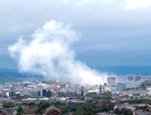 Oslo am Tag des Anschlags (Bild: lizenzfrei/Wikipedia)